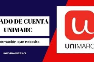 Estado de cuenta Unimarc