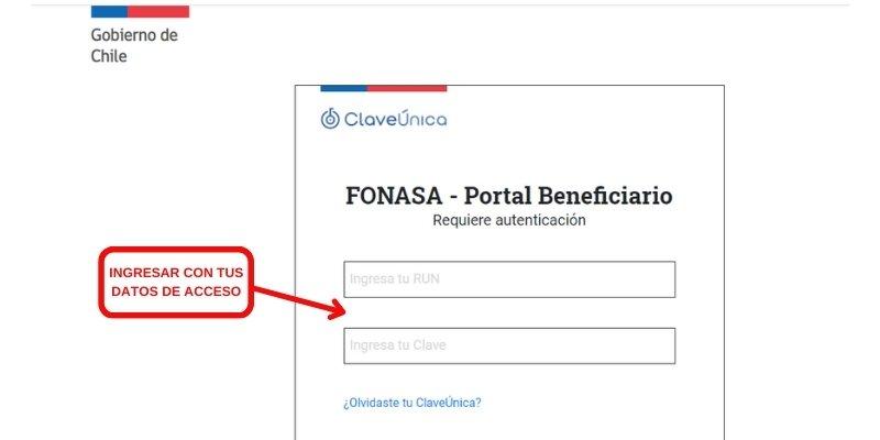 portal beneficiario fonasa