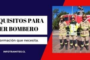 Requisitos para ser bombero en Chile