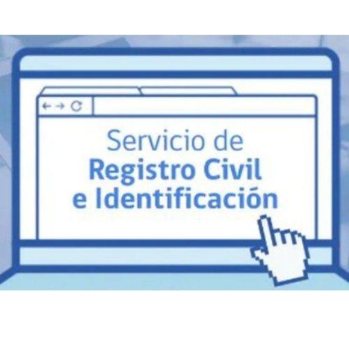 servicio de registro civil e identificación