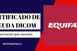 Certificado de deuda Dicom