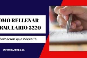 Rellenar formulario 3230. Declaración jurada