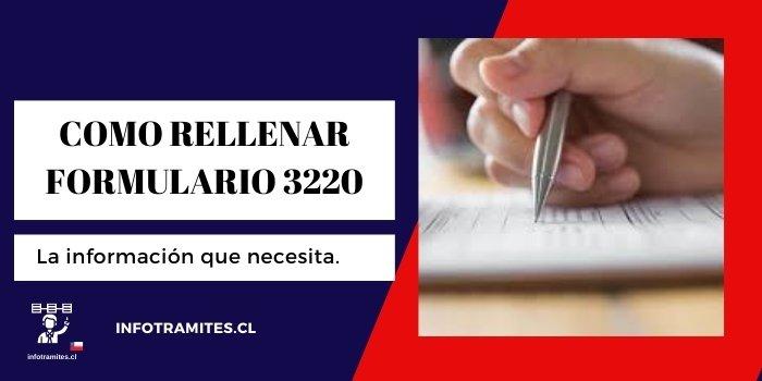 rellenar formulario 3220