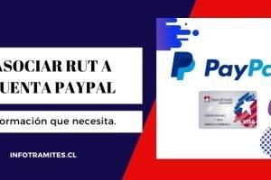 Asociar cuenta RUT a Paypal